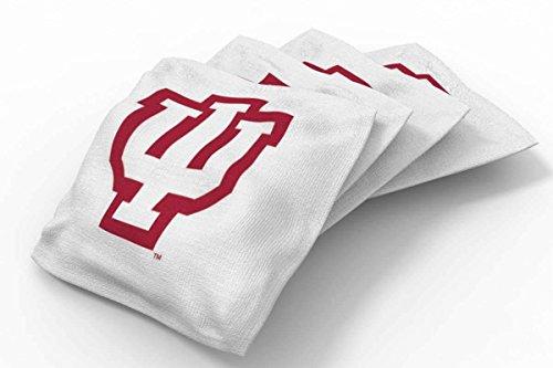 - PROLINE 6x6 NCAA College Indiana Hoosiers Cornhole Bean Bags - Solid Design (B)