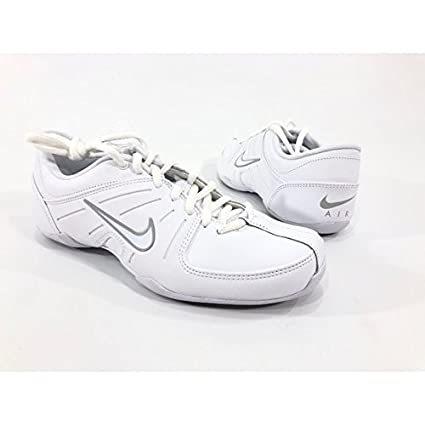 4a28684289ba Amazon.com   Nike AIR Mix Down 2 White Leather Cheerleading Dance ...