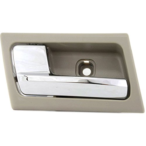 Evan-Fischer EVA18772045007 Interior Door Handle for CROWN VICTORIA/GRAND MARQUIS 03-11 Front OR Rear LH Inside Chrome Lever and Stone Housing ()