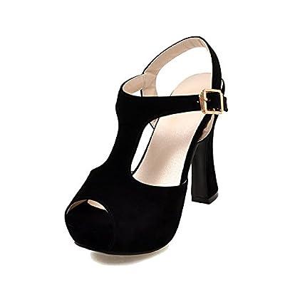 Sky-Pegasus Fashion High Heels Sandal Sexy T-Strap Platform Party Dress Sandal Woman Size 32-43