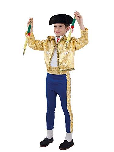 DISBACANAL Disfraz de torero para niño - Único, 8 años ...