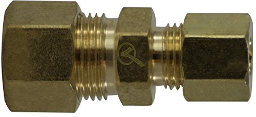 3//8 x 5//8 Size Midland 18-082LF Lead Free Brass Reducing Compression Union