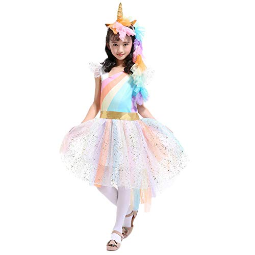Da Mai Unicorn Costumes for Girls Unicorn Tutu Dress Up Clothes for Little Girls -