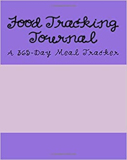 food tracking journal a 365 day meal tracker health fitness