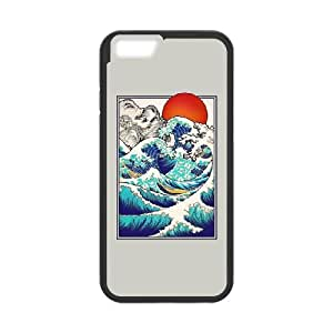 iPhone 6 4.7 Inch Cell Phone Case Black Asian Tides (Version 2) YW5020630