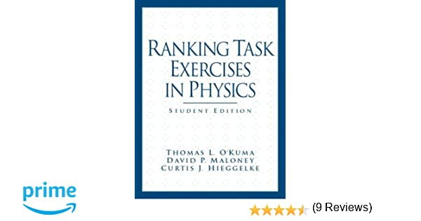 Amazon.com: Ranking Task Exercises in Physics: Student Edition ...