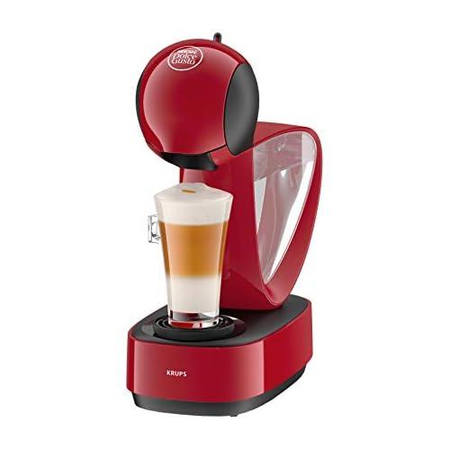 chollos oferta descuentos barato Krups Dolce Gusto Infinissima KP1705 Cafetera de cápsulas 15 bares de presión color rojo