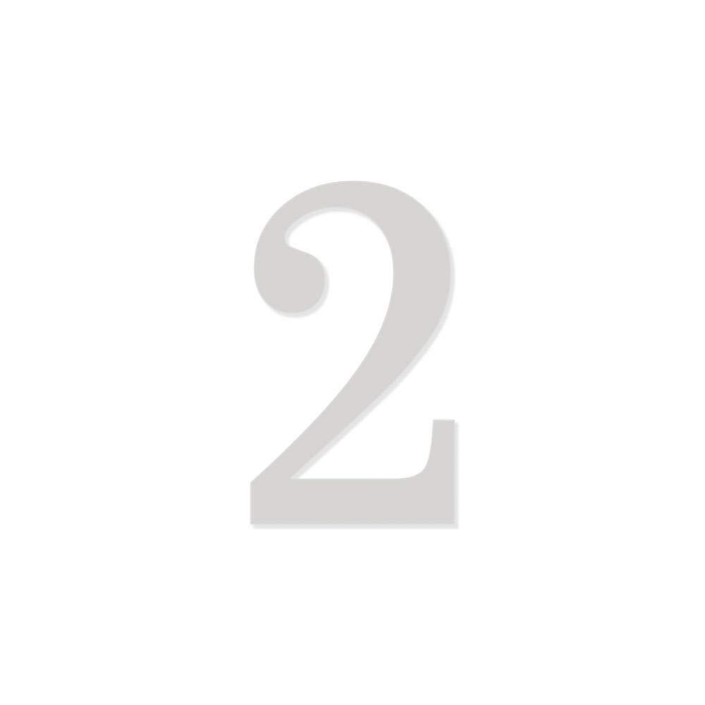 Noir Lettre B Chiffre adh/ésif 7 cm pour boite aux lettres