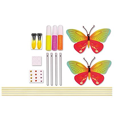 Creativity for Kids Butterfly Wind Chime Mini Craft Kit: Toys & Games