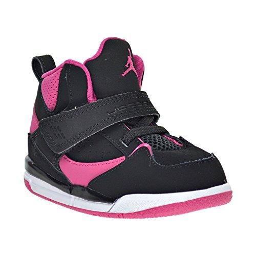 Nike Girls Jordan Flight 45 High G Sneaker, Black,9C M US