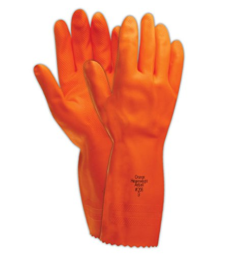 Ansell Cotton Gloves (Ansell Heavyweight 208 Extra Heavy-Duty Rubber Gloves)