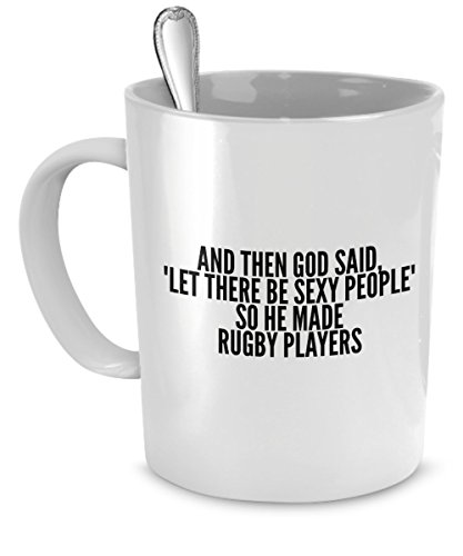 Sexy Rugby Players Mug People product image