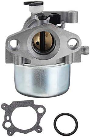 Carburateur Carb r/éparation Reconstruire Kit de re Kit de carburateur 22 pouces for moteur Briggs /& Stratton Toro Craftsman 7.5HP 190cc Moto Accessoires Moteur Carburateur remplacement