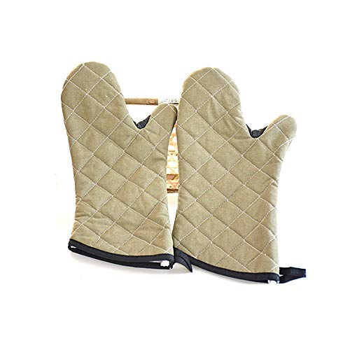 - HaoLiao Oven Gloves, Anti-Skid Kitchen Gloves, Classic Simplicity, high Temperature Anti-Ironing Baking, Barbecue, Baking, Microwave Gloves