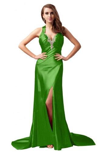 sera da Eyekepper Sunvary Celebrity lungo al Abito Verde collo dietro Dress con allacciatura 1qFftA