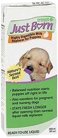 Just Born Milk Replacer Liquid for Puppies, 8 oz