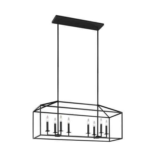 Seagull 6615008-839 Eight Light Island Pendant