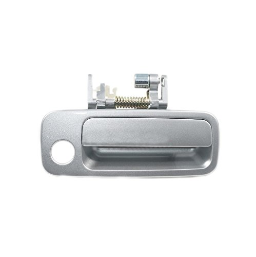 Sentinel Parts Front Right Passenger Side Outside Door Handle 1C8 Lunar Mist Silver for 1997-2001 Toyota Camry