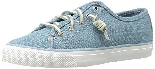 Sperry Top-Sider Womens Seacoast Waxy Fashion Sneaker Blue x2RSUB