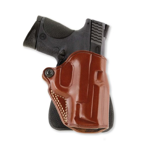 Galco Speed Paddle Holster for 1911 4-Inch, 4 1/4-Inch Colt, Kimber, para, Springfield, Smith (Tan, Right-Hand)
