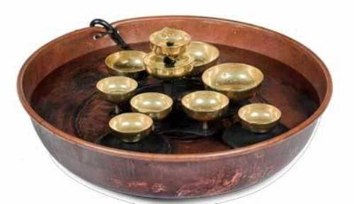 Woodstock Copper Water Bell Fountain- Encore Collection by Woodstock