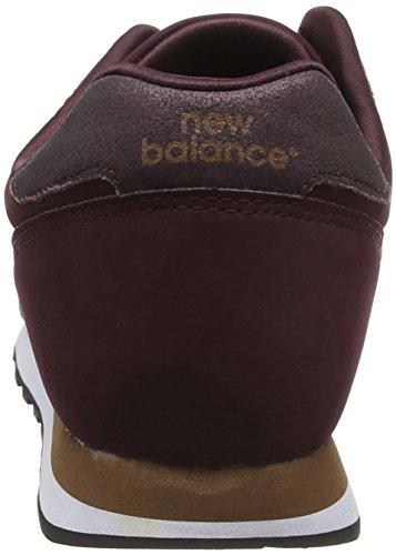 Balance Pg Mujer Rojo Burgundy Zapatillas para New 373 Gold RHqUpwp4
