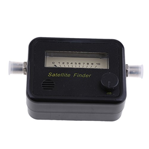 MagiDeal 13V~18V Satellite Finder With Analog Meter For Direc TV JS-SF01 Easily Calibrate The Optimum Signal,Black by Unknown