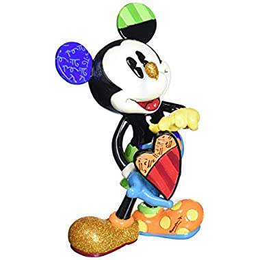 Enesco Disney by Britto Mickey Mouse with Heart Figurine, 8