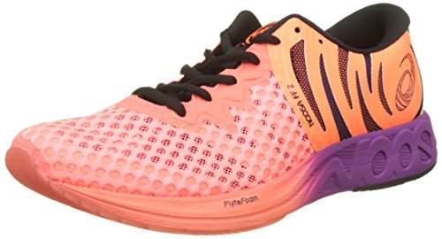 Asics Noosa FF 2, Chaussures de Running Femme, Orange (Flash Coral/Black/Rose Shocking Orange 0690), 37 EU