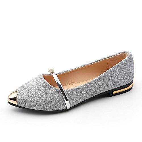 Confortables À Pointus Chaussures Femmes Chaussures Printemps Occasionnels Plates LIANGHUA Nouvelles Femme Chaussures Chaussures De Bouts Dames Tqw67wZ