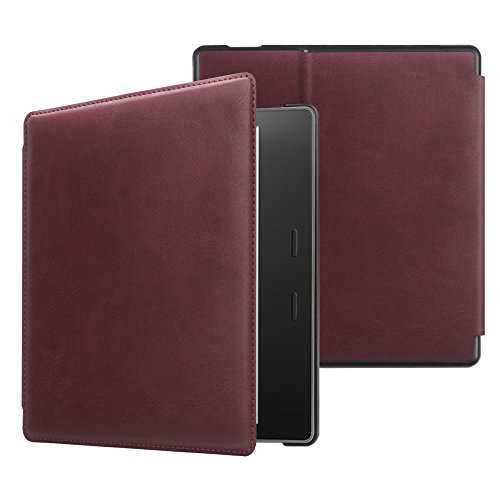Fintie Slim Case for Kindle Oasis (9th Generation, 2017 Release ONLY) - Premium Slim Shell Protective Cover with Auto Wake / Sleep for Amazon All-New 7