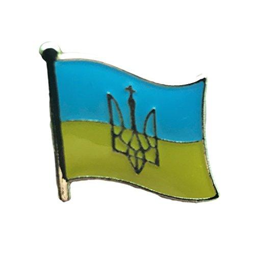 - Backwoods Barnaby Ukrainian Flag Metal Lapel Pin