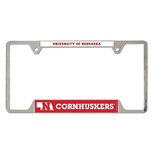 Ncaa Nebraska University (NCAA University of Nebraska Metal License Plate Frame)