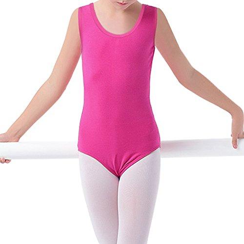 Wear C Pink Ballet Dance Girls Leotard 14Y Hot Gymnastics 3 Basic Dress TFJH wISvxqx