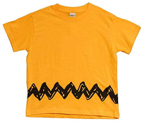 Charlie Brown Peanuts Zig Zag T-Shirt, Adult, Youth and Toddler (2T)