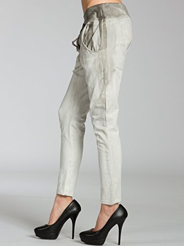 Caspar khs030mujeres batik Sweatpants gris