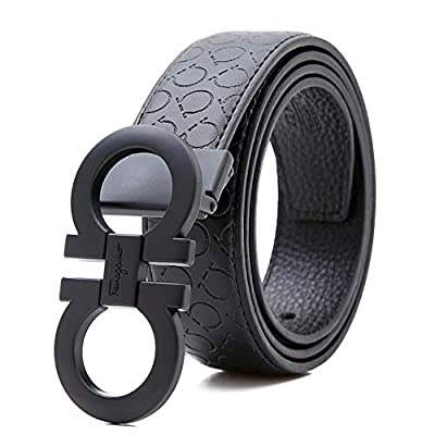 Belts For Men Leather mens belts Business Casual Belt Adjustable Dress Belt