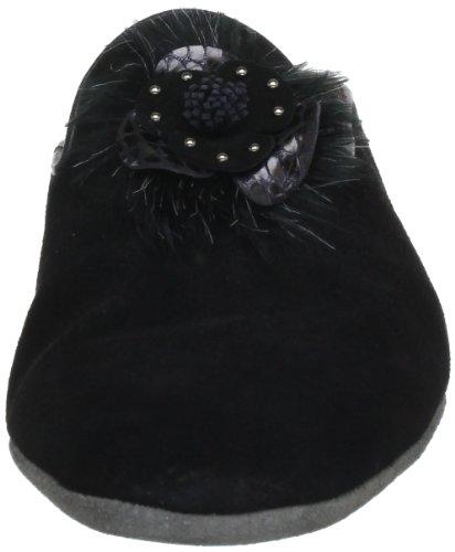 Mukavat 300 Tossut Naisten Fortuna Sylvia schwarz Musta Musta EOqx7