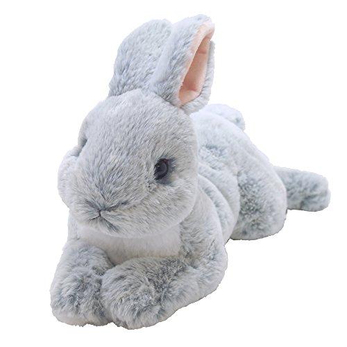 [해외]무릎 토끼 인형 그레이 / Knee Rabbit Plush Gray