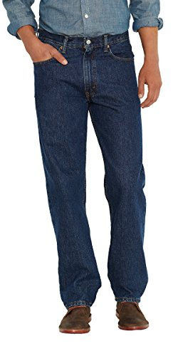 Levi's Men's Big and Tall 550 Relaxed Fit Jean, Dark Stonewash, 58W x 28L (Levis Dark Blue)