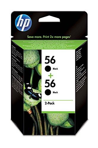 HP 56 - Cartucho de tinta para impresoras (Negro, Negro, Alto, HP Deskjet 450ci, 450cbi, 450wbt, Deskjet 5145, 5150, 5151,...