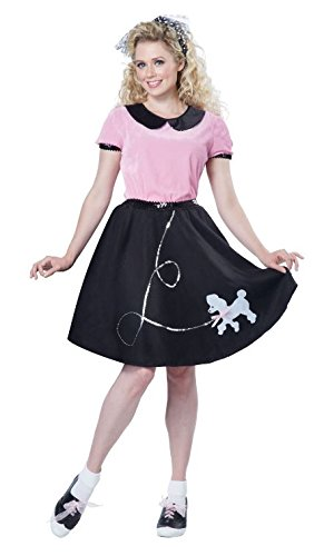 California Costumes Womens 50S Hop With Poodle Skirt Costume