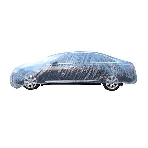 Mintice transparante plastic wegwerp universele auto hoezen regen stof Garage Cover waterdicht tijdelijk 12ft X 22ft
