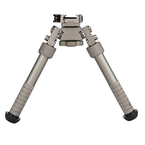 Gazelle Trading 7–10 Pro Tactical Ripotable Bipod QD Auto Lock Picatinny Mount Hunting Monopods