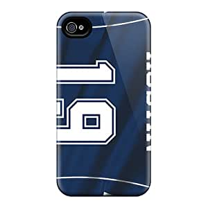 Flexible Tpu Back Case Cover For Iphone 4/4s - Dallas Cowboys