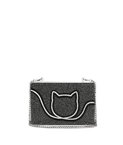 Karl Lagerfeld Pochette Donna 71KW3057 Acrilico Grigio