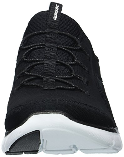 Shoes Appeal Flex 12903 Skechers 2 White 0 Media Black Mixed aSq1x0w