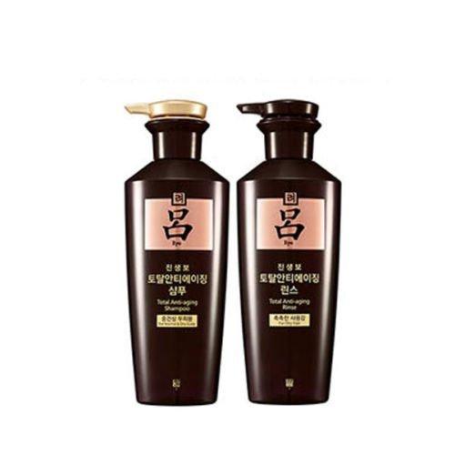 Ryoe Korean Ginsengbo Total Anti-aging Shampoo + Rinse 400g