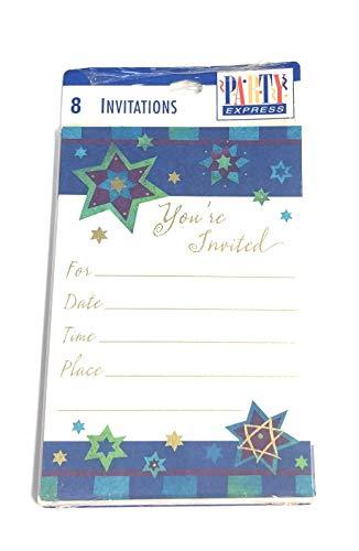 Hallmark Hanukkah Invitations Stars party express (Hanukkah Party Invitations)