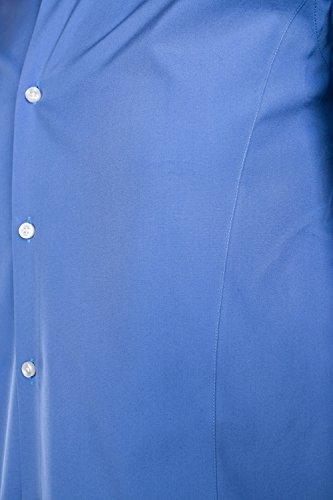BOSS Shirt Ilan in Blue